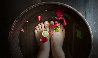 foot massage spa